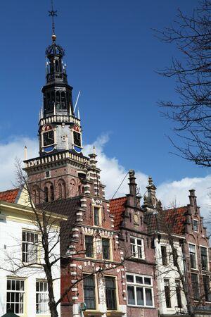 houses church history netherlands 版權商用圖片 - 132409072