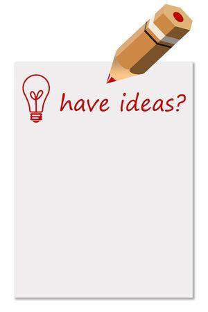 brainstorm ideas illustration