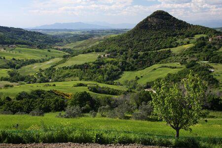 Tuscany landscape 版權商用圖片