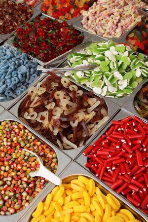 colorful candy 版權商用圖片