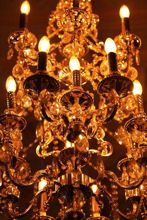 chandelier lights 版權商用圖片
