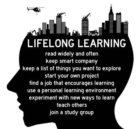 lifelong learning illustration