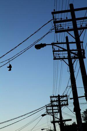 shoe wires 版權商用圖片
