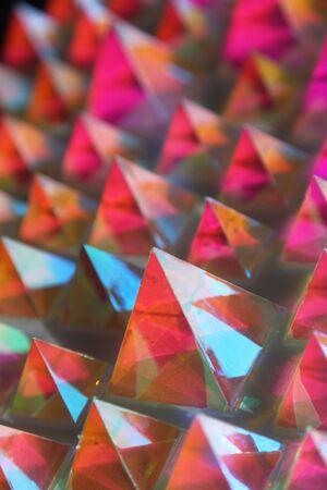 shiny pyramids 版權商用圖片