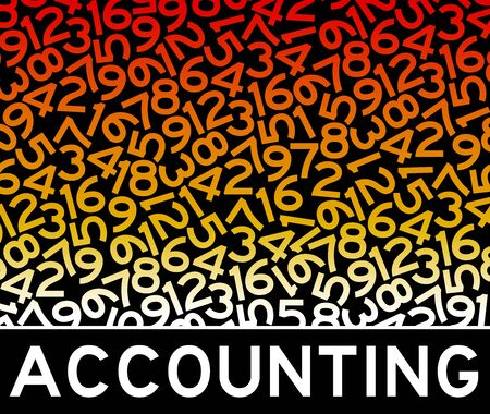 accounting numbers illustration