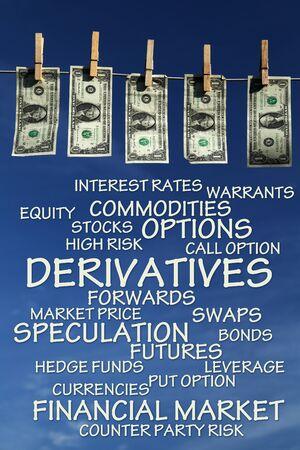 Derivates illustration 版權商用圖片