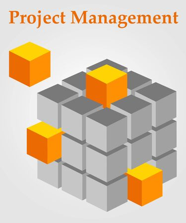 project management illustration