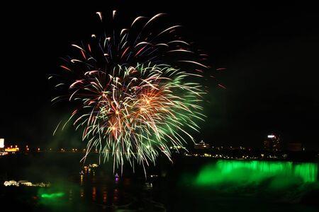 colorful fireworks show 版權商用圖片