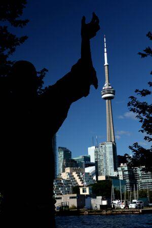 Toronto art skyline