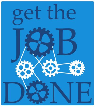 Get the job done illustration