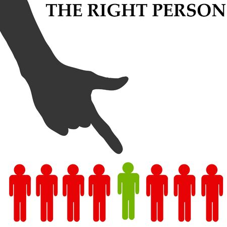 right person illustration