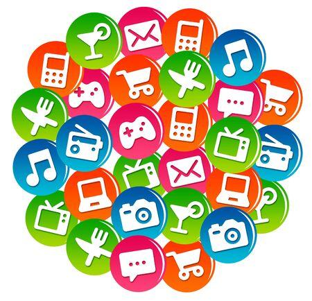 app communication illustration