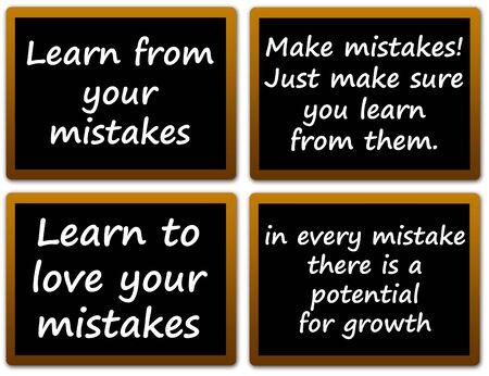 mistakes illustration