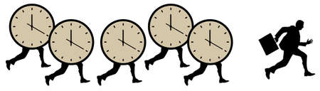 time pressure illustration