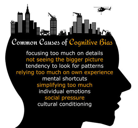 causes cognitive bias illustration