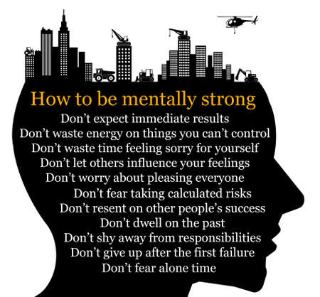 mentally strong illustration