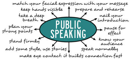 public speaking tips illustration