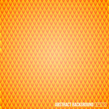 pulpy: Abstract bright orange pulpy background. Vector Illustration Illustration
