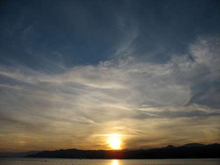 Sunset in Eilat, Israel