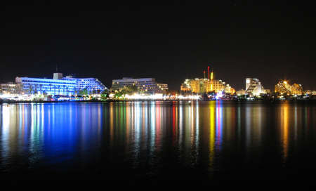 The Waterfront of Eilat, Israel. Stock Photo