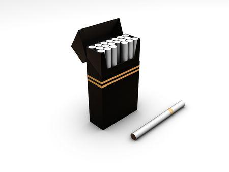 cigarette filter: Cigarette box