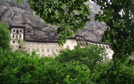 Sumela Monastery ,Macka,Trabzon,Turkey.An Orthodox Monastery Stock Photo - 7928837