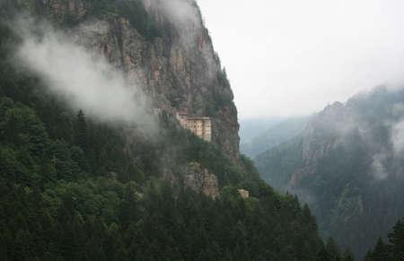 Sumela Monastery ,Macka,Trabzon,Turkey.An Orthodox Monastery