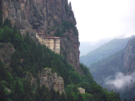 christendom: Sumela Monastery ,Macka,Trabzon,Turkey.An Orthodox Monastery