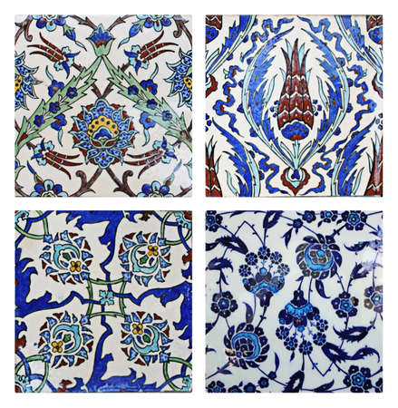 Turkish Wall Tiles,Collage photo