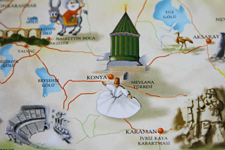 konya: Konya  Turkey  On The Touristic Brochure