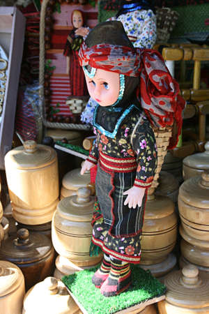 Souvenir doll belong to Eastern Black Sea Region of Turkey