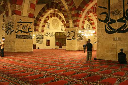 Edirne,Turkey-June 22,2012:Interior Of Historical Eski Mosque