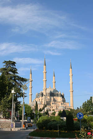 Edirne,Turkey-June 22,2012 :Selimiye Mosque