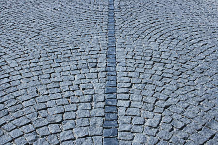 Cobble-stone street
