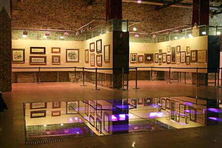Istanbul,Turkey-November 12,2012:Art Gallery  Stock Photo - 16837303