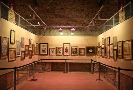 metropolitan: Istanbul,Turkey-November 12,2012:Art Gallery