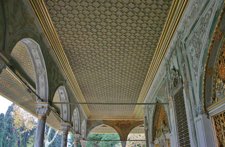 mehmed: Istanbul,Turkey-December 7,2012:A Detail of Topkapi Palace