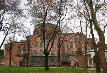 Istanbul,Turkey-December 7,2012:Hagia Irene (Hagia Eirene ) Church Stock Photo - 17055671