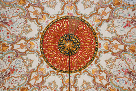 Istanbul,Turkey-December 7,2012:Royal Art ,Topkapi Palace
