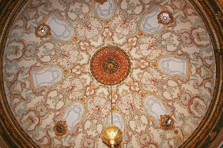 topkapi: Dome Of Topkapi Palace,Oriental Ornaments,Istanbul