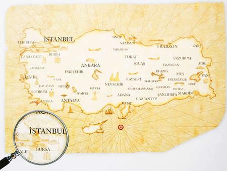 piri piri: Turkey Map