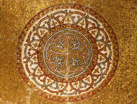 Istanbul,Turkey-June 08,2013:Ancient Mosaic in Chora Museum  Stock Photo - 20289669