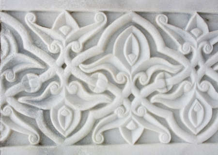 Medieval marble ornament