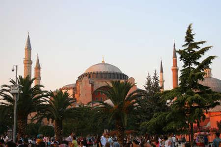 Istanbul,Turkey-July 25,2013 Hagia Sophia Museum Stock Photo - 21238637