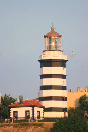 Lighthouse of Sile in Istanbul and Blacksea photo