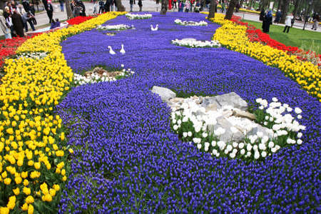 agachado: Internacional Tulip Fiesta, Estambul, Turqu�a Editorial