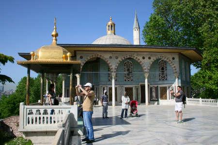 topkapi: Upper terrace and Baghdad Kiosk, Topkapi Palace, Istanbul