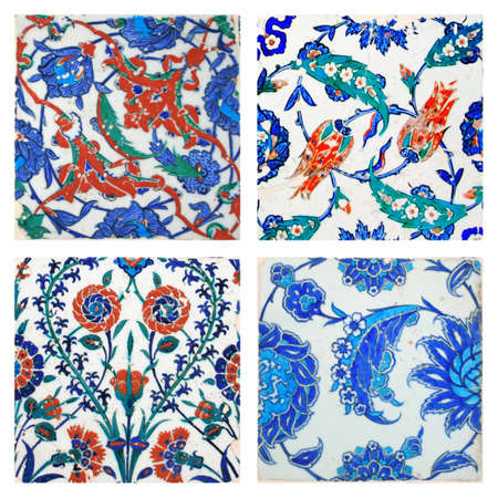 ���wall tiles���: Old ,OriginalTurkish Wall Tiles,Collage