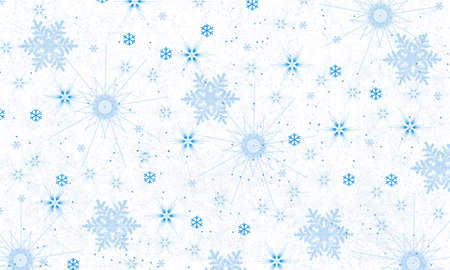 glistering: Snowflake background-illustration Stock Photo