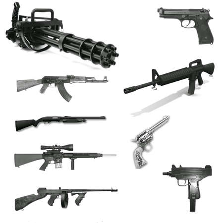 winchester: Weapon set